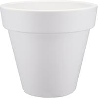 Pure Round plantenbak wit Maat 30