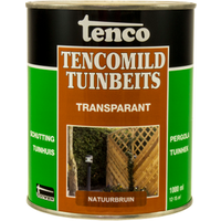 Tencomild tuinbeits transparant natuurbruin 1L