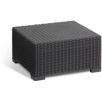 Loungetafel Allibert California 68x68cm Grafiet