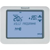 HONEYWELL CHRONOTHERM TOUCH klokthermostaat 24v WIT (TH8200G1004)