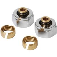 Plieger Adapter onderbl.16-2mm.chroom 2 stuks