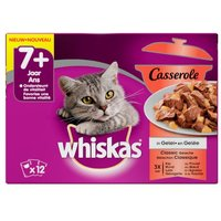 Whiskas blik adult rund in saus
