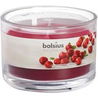 Bolsius geurkaars in glas 63-90 cranberr