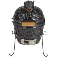 BBGrill Kamado Mini Houtskoolbarbecue Zwart