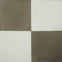 Vloertegel Kashba 4 Kant Decor Grijs-Wit 20x20x1.5 (per m2)