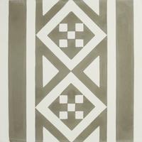 Vloertegel Kashba Randdecor Grijs 20x20x1.5 (per m2)