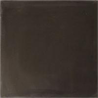 Vloertegel Kashba Uni Zwart 20x20x1.5 (per m2)