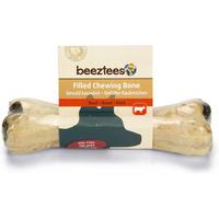 DeliSnacks gevuld kauwbot met pens hondensnack 1 stuks 15 cm