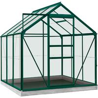 ACD tuinkas Daisy 3.8m2 groen – veiligheidsglas