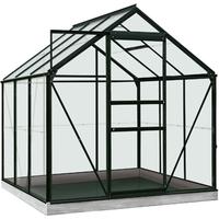 ACD tuinkas Daisy 3.8m2 zwart – veiligheidsglas