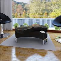 Salontafel multifunctioneel design zwart