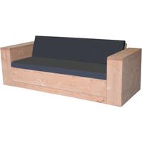 Wood4You loungebank douglashout met kussens 200cm