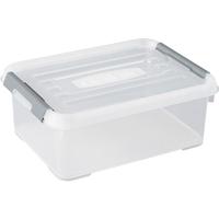 Opbergbox Handy+ 12l Clipsluiting Transparant Deksel Transparant Allibert