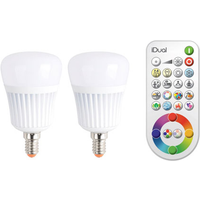 JEDI Lighting RGB LED-lamp 7 W = 40 W RGBW 230 V Colorchanging, Dimbaar Inhoud: 1 pack
