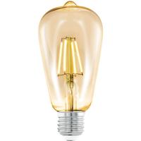 Eglo LED-lamp E27 Amber 4W Ø64mm