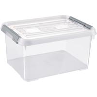 Opbergbox Handy+ 15l Clipsluiting Transparant Deksel Transparant Allibert