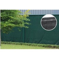 Giardino schaduwdoek Ombra Zicht zwart 95x100cm 10 meter