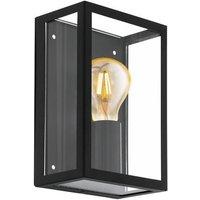 Eglo Alamonte Plafondbuitenlamp Zwart 30 cm