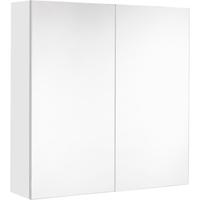 Allibert Look spiegelkast 60cm glanzend wit