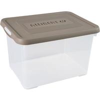 Opbergbox Handy 20l Taupe Deksel Allibert