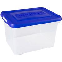 Opbergbox Handy 20l Blauwe Deksel Allibert