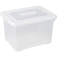 Opbergbox Handy 20l Transparante Deksel Allibert