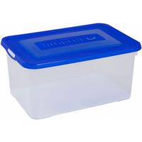 Opbergbox Handy 50l Blauwe Deksel Allibert