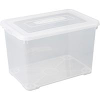 Opbergbox Handy 65l Transparante Deksel Allibert