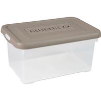 Opbergbox Handy 6l Taupe Deksel Allibert