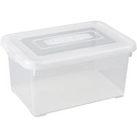 Opbergbox Handy 6l Transparante Deksel Allibert