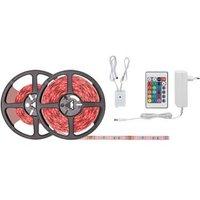 LED-strip complete set RGB met stekker 12 V 750 cm Paulmann SimpLED 78979