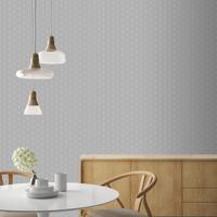 Decomode vliesbehang Mini design grijs