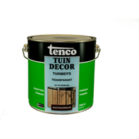 Tenco Tuindecor tuinbeits transparant kastanjebruin 2,5L