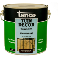 Tenco Tuindecor tuinbeits transparant donkerbruin 2,5L