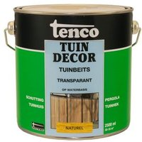Tenco Tuindecor tuinbeits transparant natuurbruin 2,5L