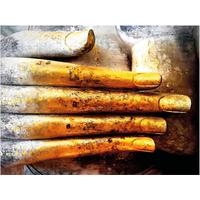 Tuinschilderij Boedha Hand 50x70cm PB-Collection