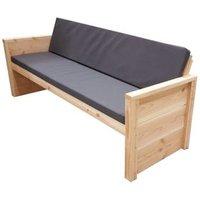 Wood4You loungebank Vlieland bouwpakket douglashout met kussen 188cm
