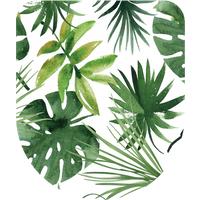 Aquazuro toiletzitting Tropisch duroplast groen