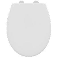 Aquazuro toiletzitting Vivara duroplast wit