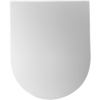 Aquazuro toiletzitting duroplast wit