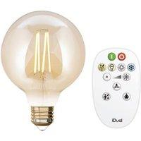 iDual led lamp Whites filament g95 E27 806lm