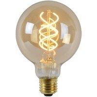 Lucide LED Bulb Ø 9,5 cm 1x5W 2200K Amber