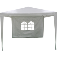 Central Park partytent zijwand Basic 3x3m wit