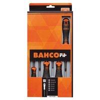 BAHCO Bahco Fit schroevendraaierset platte kop-PH-PZ 6 st B219.026