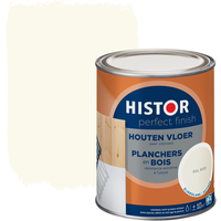 Histor Perfect Finish houten vloer zijdeglans RAL 9010 750 ml