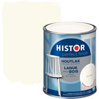 Histor Perfect Finish houtlak hoogglans RAL 9010 750 ml