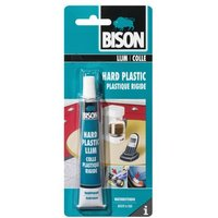Bison Hard Plastic Lijm 25 ml tube kaart