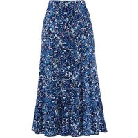 Print Crinkle Skirt Length 27in