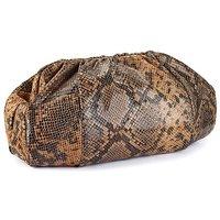 Claire Richards Animal Skin Clutch Bag