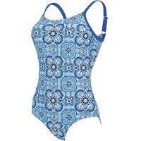 Zoggs Craftwork Hi Back Swimsuit